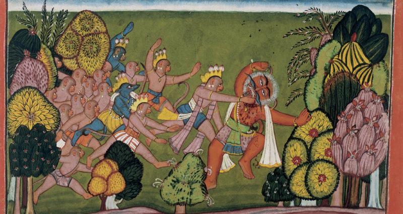 vanar-fight-demons-ramayan-desibantu
